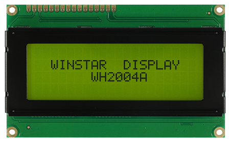 Display Winstar WH2004A-YGB-ST LCD Caracteres 20x4