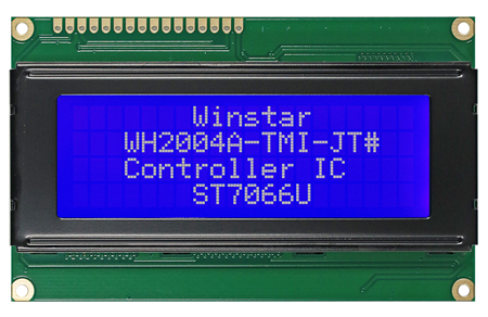 Display Winstar WH2004A-TMI-ST LCD Caracteres 20x4