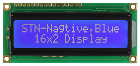 Display Winstar WH1602B-TMI-ST LCD Caracteres 16x2