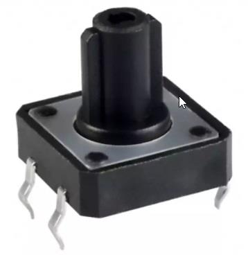 Tact Switch Through-Hole 1212HIM-160G-G