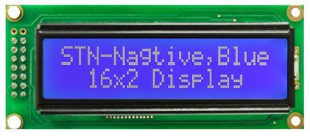 Display Winstar WH1602C-TMI-ST LCD Caracteres 16x2
