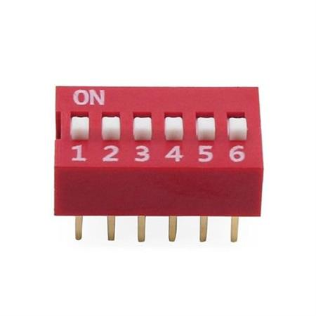 Dip Switch Vertical EDG106S