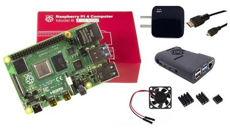 Kit Raspberry Pi 4 B 2gb Original + Fuente 3A + Gabinete + Cooler + Cable HDMI + Disip