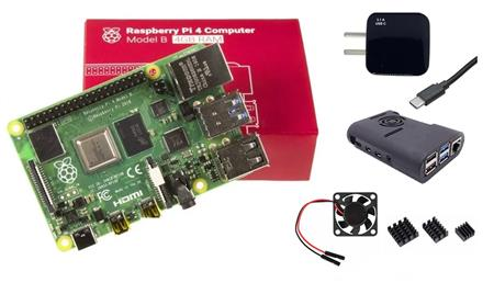 Kit Raspberry Pi 4 B 4gb Original + Fuente 3A + Gabinete + Cooler + Disip