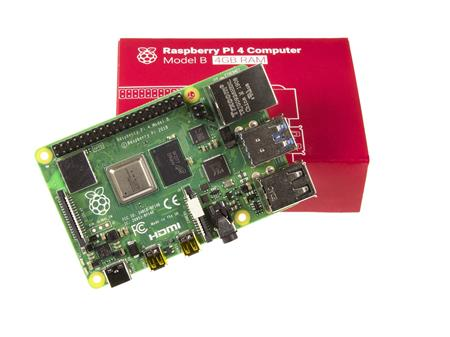 Element14 Raspberry Pi 4 4gb Original Made In UK