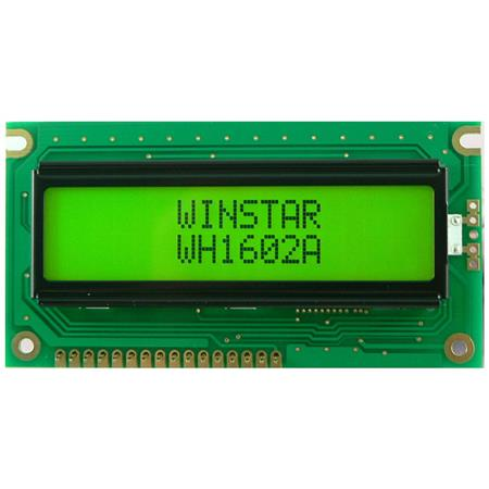 Display Winstar WH1602C-NBA-ST LCD Caracteres 16x2