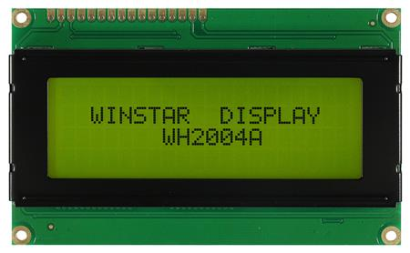 Display Winstar WH2004A-TFH-ST LCD Caracteres 20x4