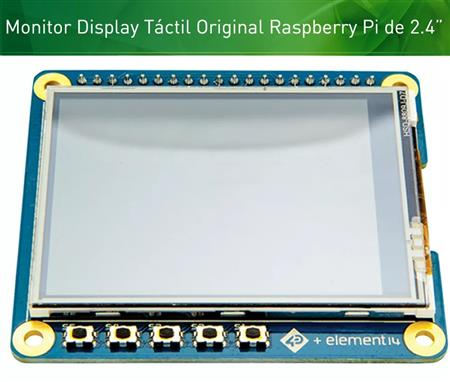 Raspberry Display Original 4D Systems 2,4 Touch